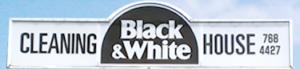 クリーニングブラック ホワイト
